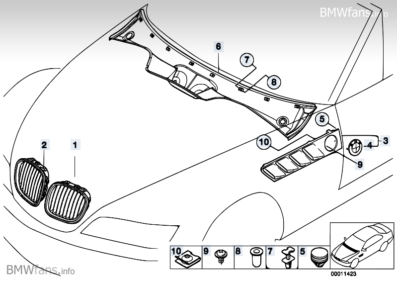 Bmw Z3 Parts Diagram