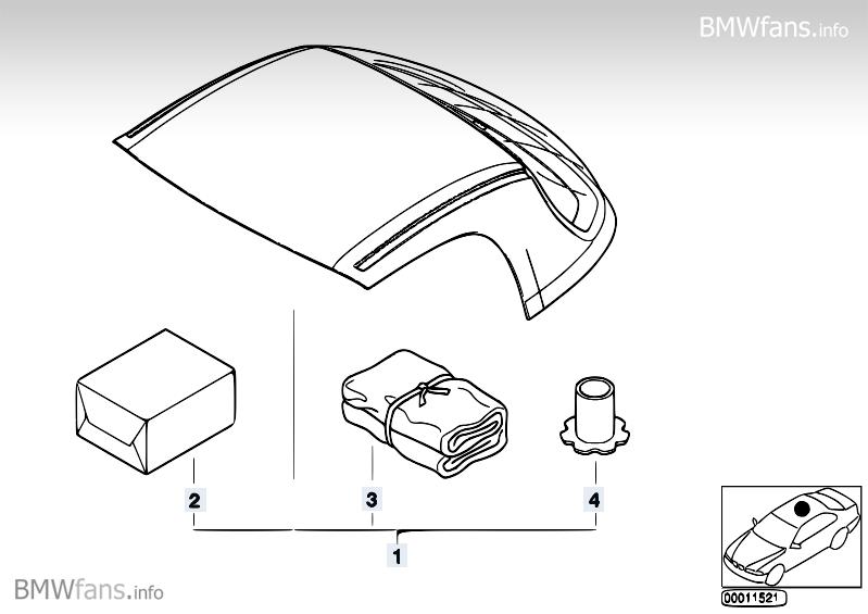 Bmw E36 Hardtop Part Number