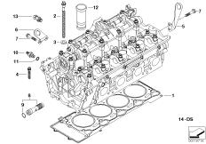 Engine Illustrations Bmw 7 E65 745i N62 Bmw Parts Catalog