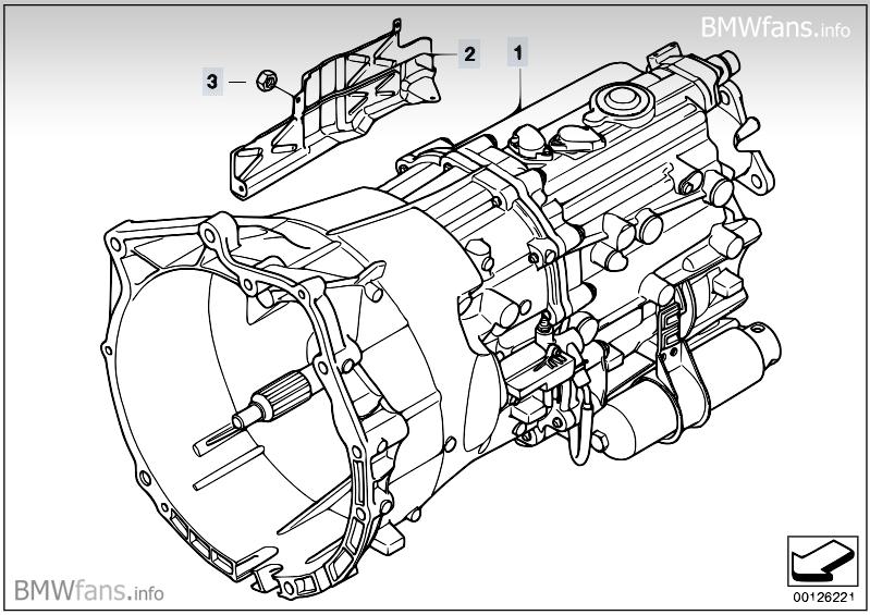 Manual Gearbox Gs6s37bz Smg Bmw Z4 E85 Z4 2 5i M54
