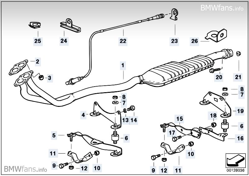 [BMW 316 i E36] Changement de la sonde lambda MTI4MDM2X3A=