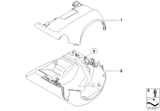 Steering column trim