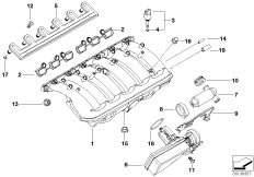 Intake manifold system