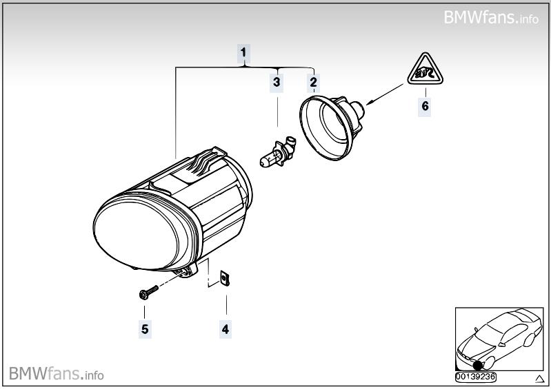 e53 vl  blende vor nebelscheinwerfer ausbauen    bmw x1