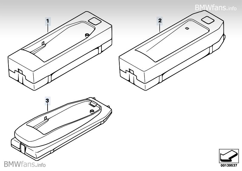Adapter Snap-In BMW Bluetooth BMW X3 E83, X3 2 0d (M47N2