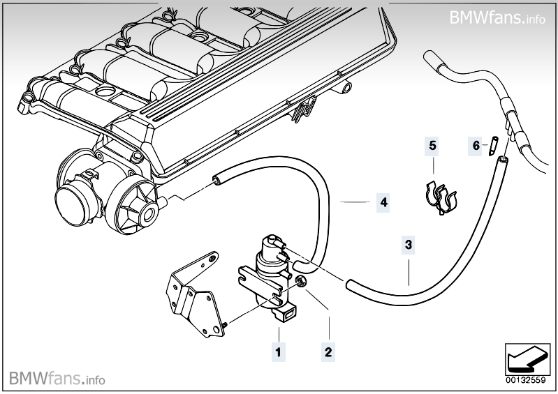 2001 bmw x5 vacuum diagram  2001  free engine image for