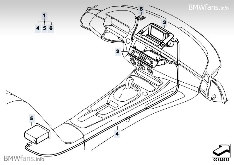 Retrofit Kit Navigation With Monitor Bmw Z4 E85 Z4 2 5i