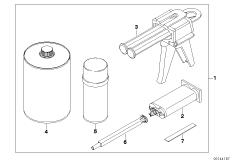 Plastic repair box