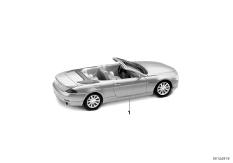 6er Cabrio miniatures
