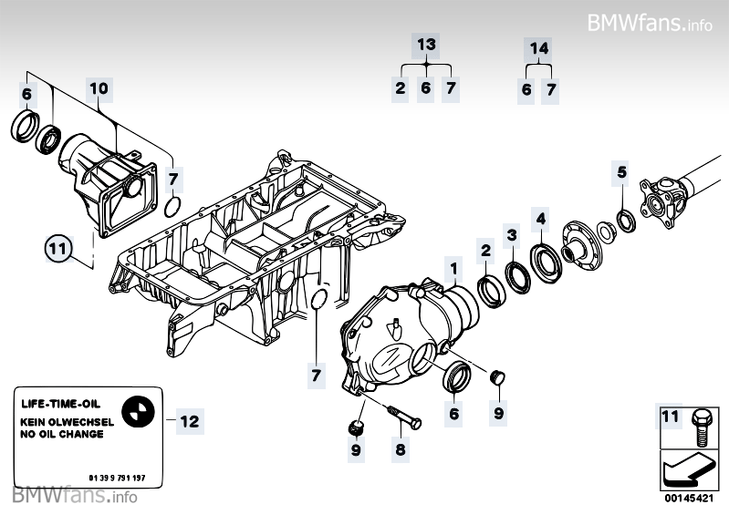 bmw x3 front differential diagram  bmw  auto parts catalog