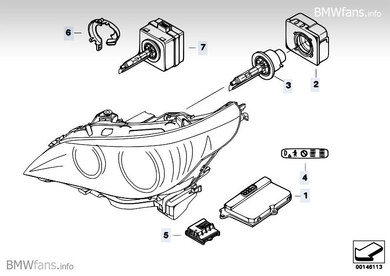 d1s oder d2s scheinwerfer steht beides 5er bmw e60. Black Bedroom Furniture Sets. Home Design Ideas