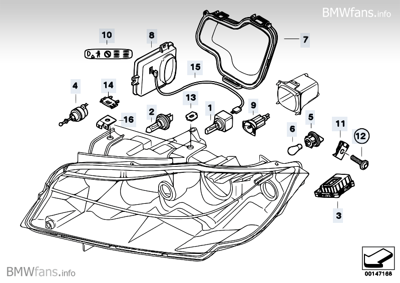 bmw e90 headlight diagram  bmw  free engine image for user