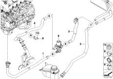 Bmw Heater Core Hose Diagram