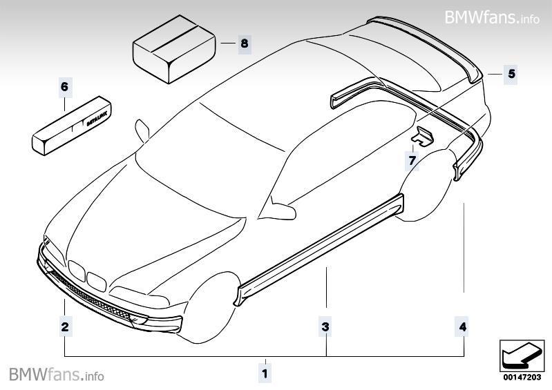 e46 limo aerodynamik paket komplett und neu biete bmw teile tuning zubeh r www. Black Bedroom Furniture Sets. Home Design Ideas