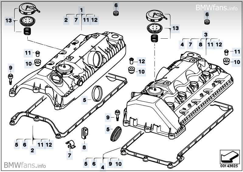 2006 bmw 750li parts diagram