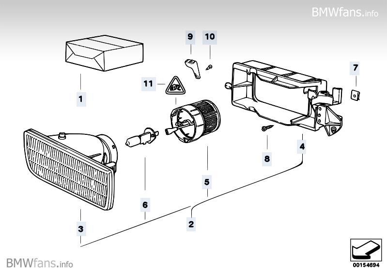 nebelscheinwerfer einklipsen geht nicht birne neu 3er. Black Bedroom Furniture Sets. Home Design Ideas