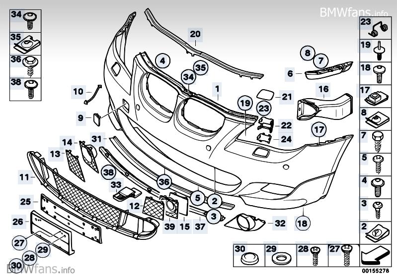 M Tech Rear Bumper Install Question