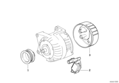 Alternator parts 95A