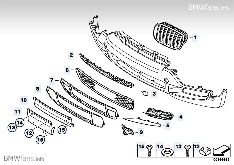 Bmw X5 E70 Parts Diagram