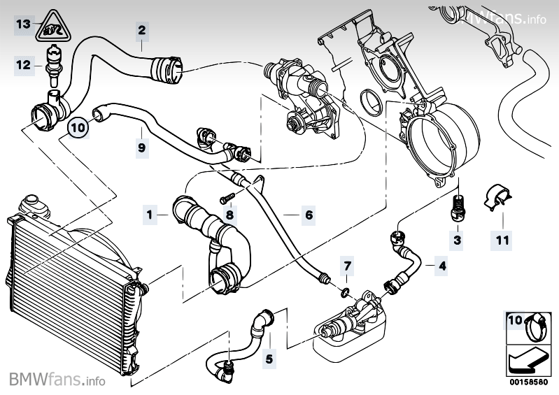 Bmw 740il Serpentine Belt Diagram