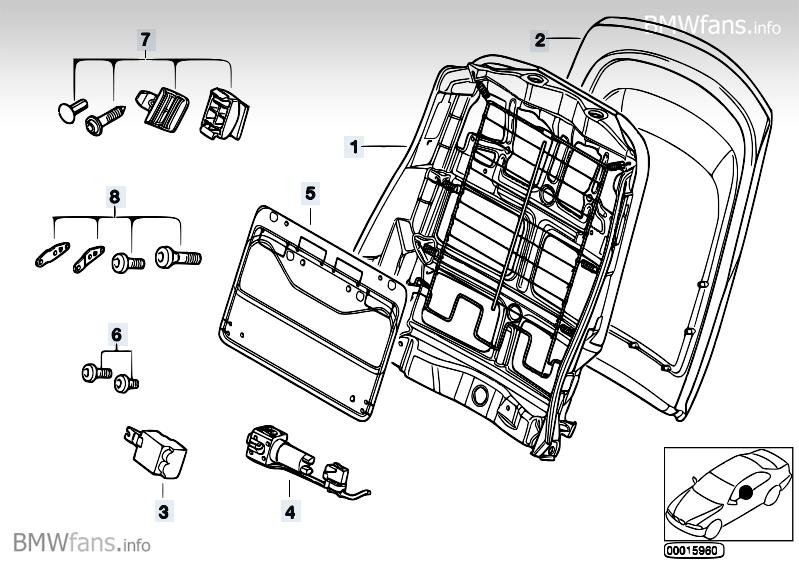 R 252 Ckverkleidung Sitz Facelift Limo 3er Bmw E46 Forum