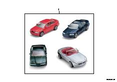 BMW toy-car set 1