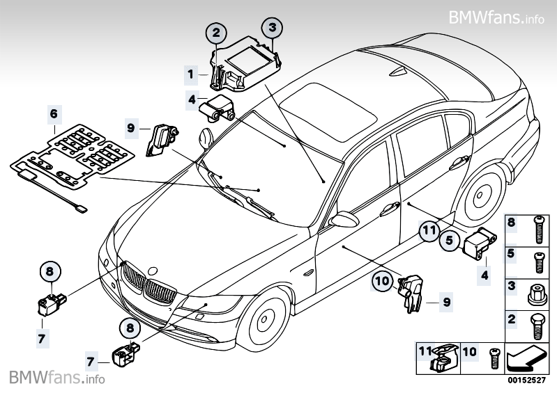 Bmw E46 Airbag Wiring Diagram : Bmw e airbag ecu location