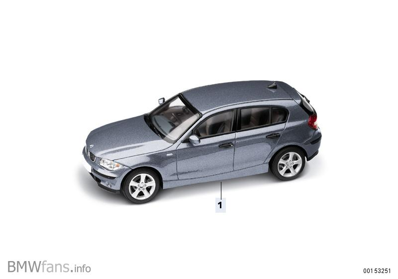 miniatures e87 all scales colours bmw accessories catalog. Black Bedroom Furniture Sets. Home Design Ideas
