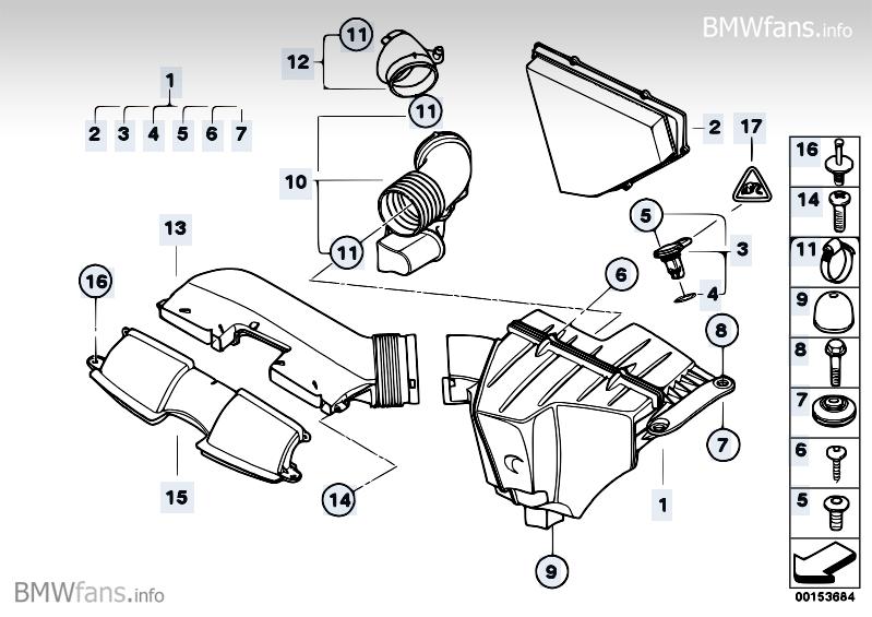 E90 Intake Silencer    Engine Air Intake