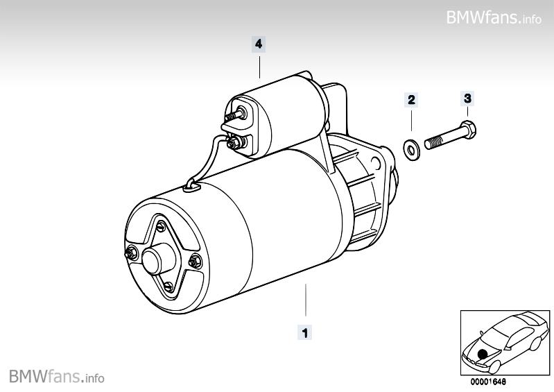 bmw 320d starter motor removal