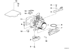Throttle housing assembly