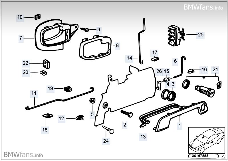 Bmw Z3 Door Diagrams Bmw Auto Parts Catalog And Diagram