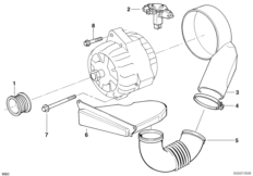 Alternator parts 140A