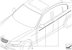 Fahrzeugausstattung bmw 3 39 e90 320d n47 europa for Chrome line exterieur bmw