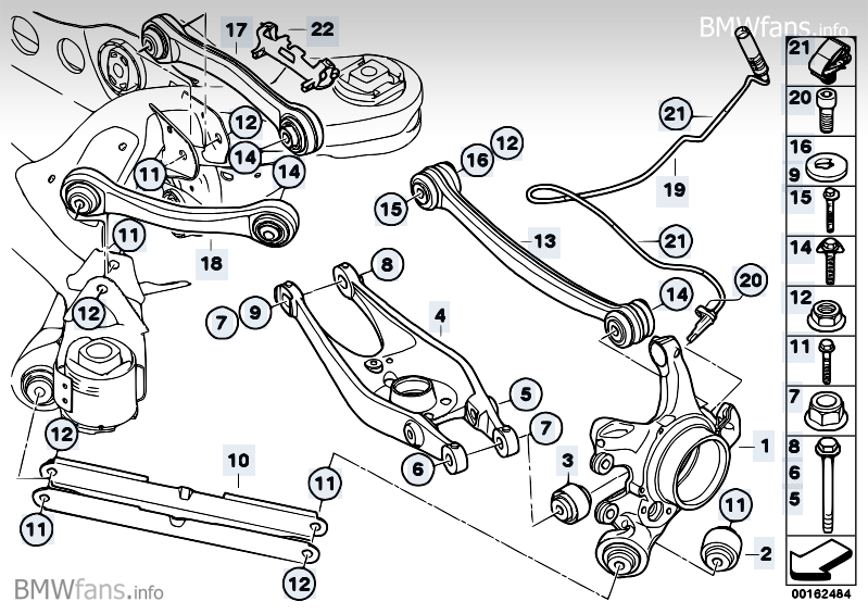 Bmw E46 Suspension Diagram Nemetas Aufgegabelt Info