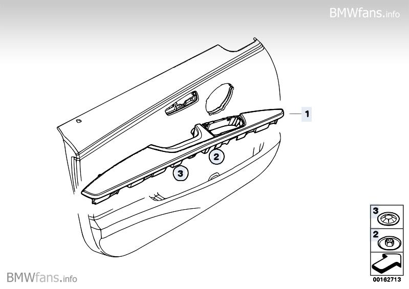 Armrest Door Trim Front Bmw 3 E90 325i N52n Bmw