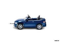 6er Cabrio Elektro-/Tretversion