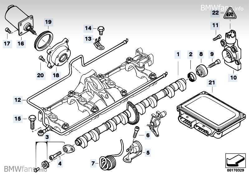 Valve Timing Gear Eccentrshaft Actuator BMW 7' E65 745i N62