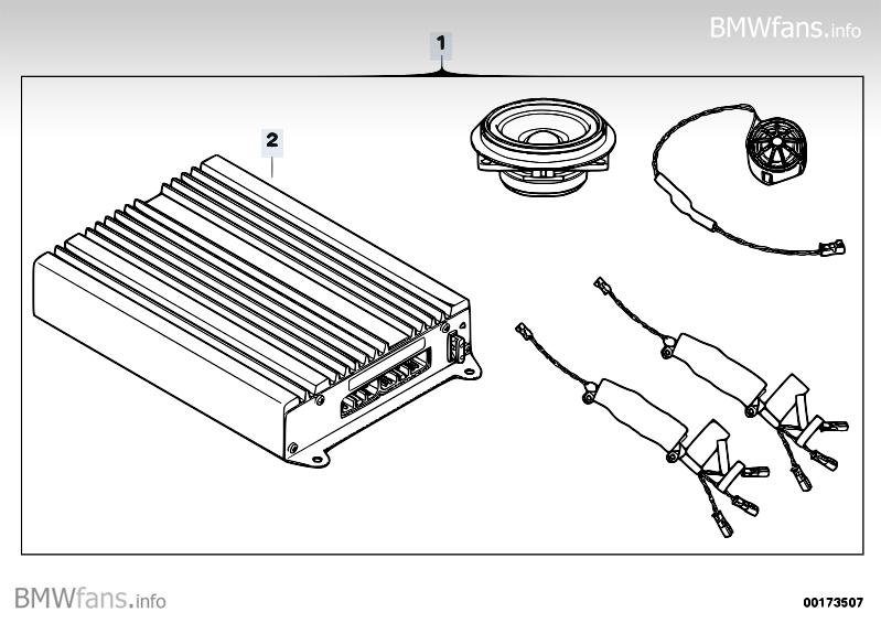 Retrofit Kit Hi Fi System Alpine Bmw 3 E90 318i N46n
