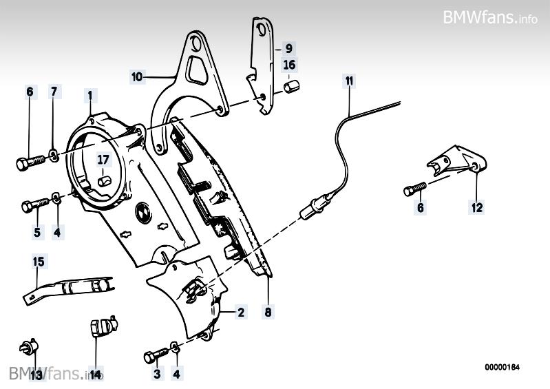 wheel casing upper part bmw 3 u0026 39  e30  325ix  m20   u2014 bmw parts catalog
