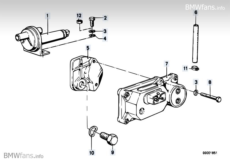 Addit Air Slide Valve Warm Up Regulator BMW 3 E21 320i M10 Rh 2009 BMWfans Info E12: BMW E21 Engine Diagram At Kopipes.co