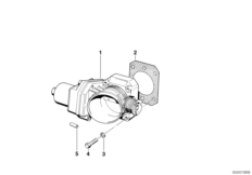 Throttle housing assembly Eml