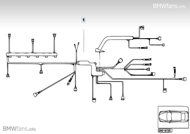 e46 engine wire harness