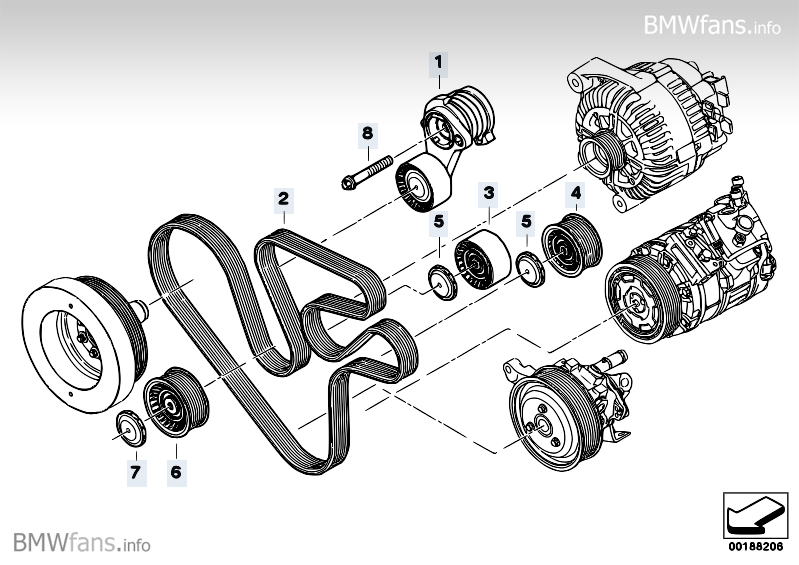bmw n54 engine serpentine belt  bmw  free engine image for