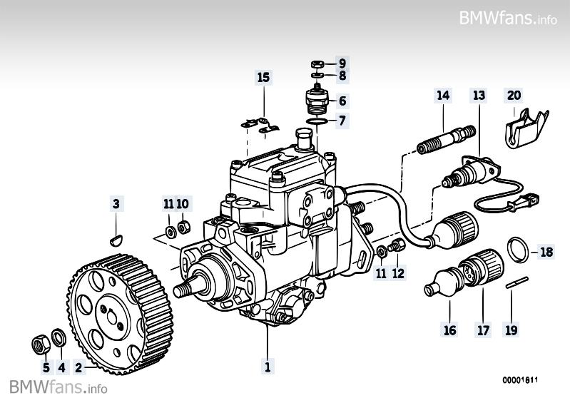 bosch diesel injection pump fuel