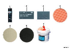 Paint finish systems accessories