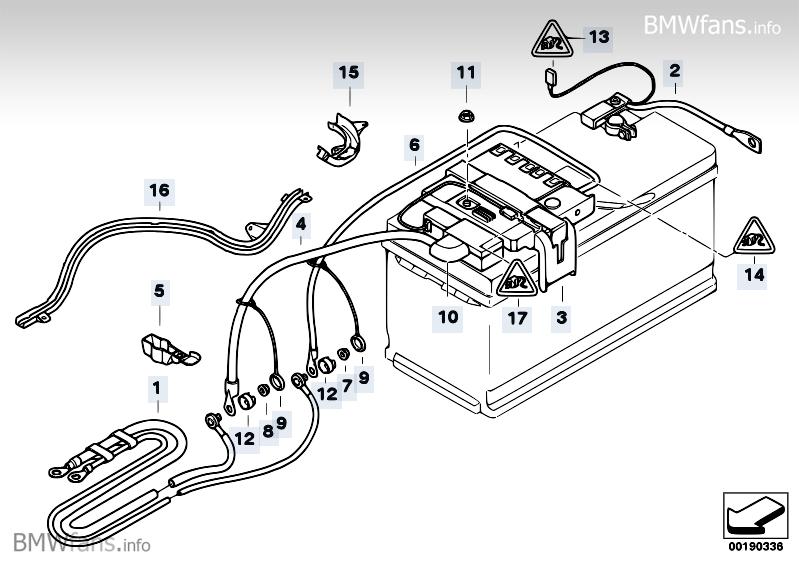 battery lead distribution box rear bmw 3 39 e90 320i n46 bmw parts catalog. Black Bedroom Furniture Sets. Home Design Ideas