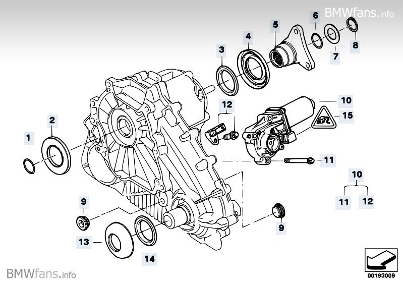 Transfer Case Single Parts Atc 700 Bmw X5 E70 X5 3 0d M57n2 Bmw Parts Catalog