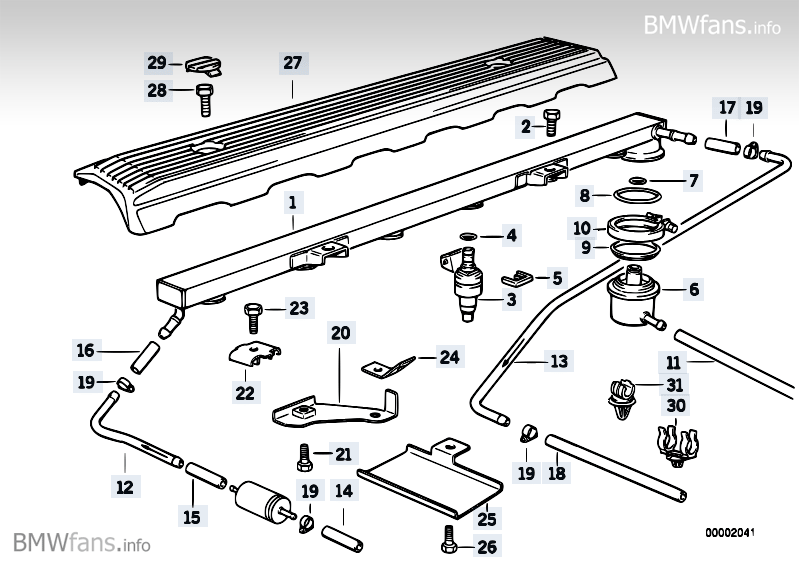 Bmw M52 Fuel Injection Wiring Diagram - Residential Electrical Symbols •