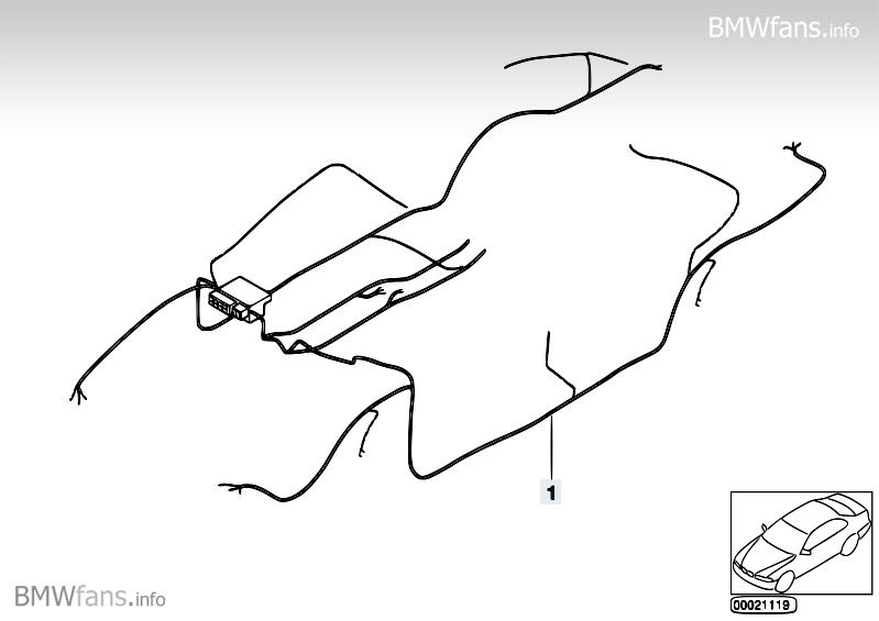 audio wiring harness bmw 3 u0026 39  e90  320i  n46   u2014 bmw parts